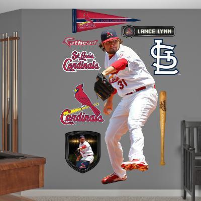 St. Louis Cardinals Lance Lynn Wall Decal Sticker