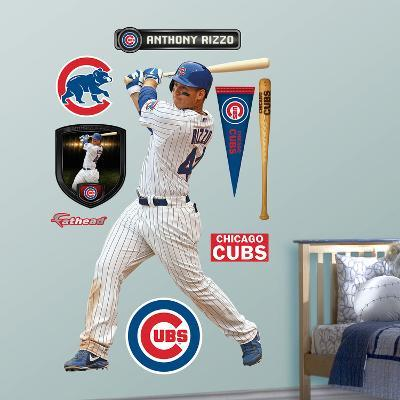 Chicago Cubs Anthony Rizzo Wall Decal Sticker