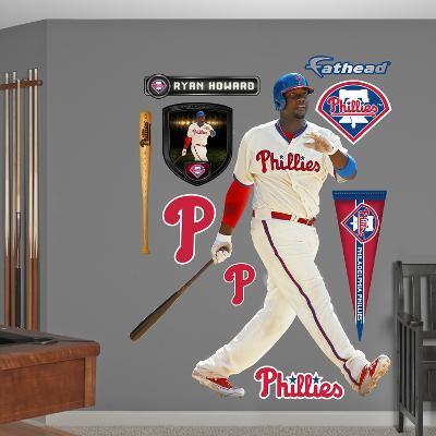 Philadelphia Phillies Ryan Howard Wall Decal Sticker