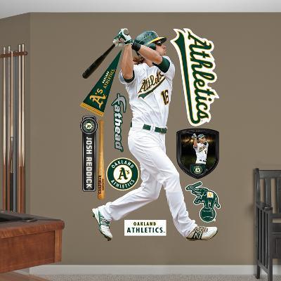 Oakland Athletics A's Josh Reddick Wall Decal Sticker