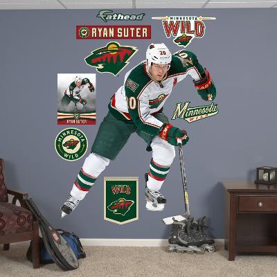 NHL Minnesota Wild Ryan Suter Wall Decal Sticker