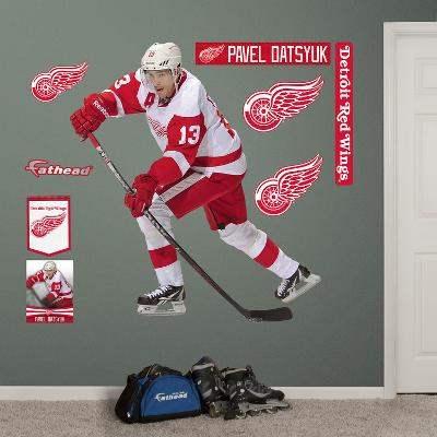 NHL Detroit Red Wings Pavel Datsyuk - No. 13 Wall Decal Sticker