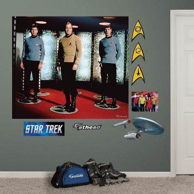 Star Trek The Original Series Crew Mural Decal Sticker