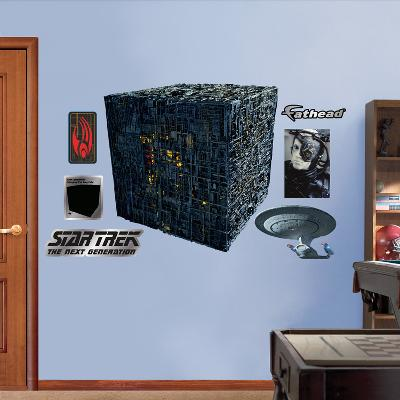 Star Trek Borg Cube Wall Decal Sticker