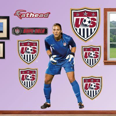 Soccer Hope Solo Wall Decal Sticker