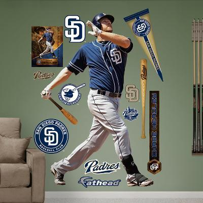 San Diego Padres Chase Headley Wall Decal Sticker