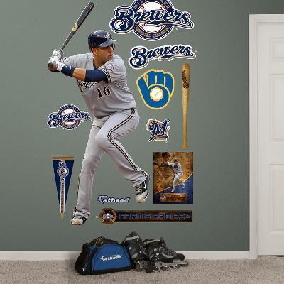 Milwaukee Brewers Aramis Ramirez Wall Decal Sticker