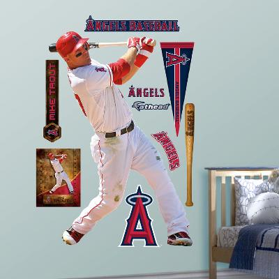 Los Angeles Angels Mike Trout - Home Wall Decal Sticker