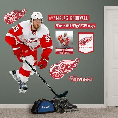 NHL Detroit Red Wings Niklas Kronwall Wall Decal Sticker