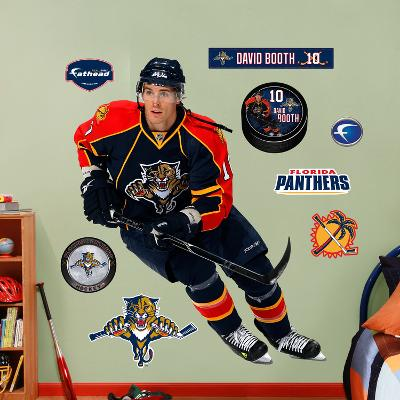 NHL Florida Panthers David Booth Wall Decal Sticker