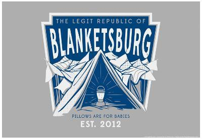 The Legit Republic of Blanketsburg Snorg Tees Poster