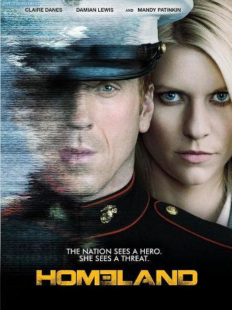Homeland Television Poster
