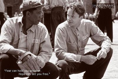 Shawshank Redemption Hope Movie Poster