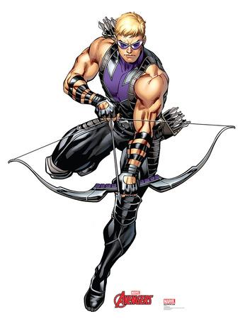 Hawkeye - Marvel Avengers Assemble Lifesize Standup
