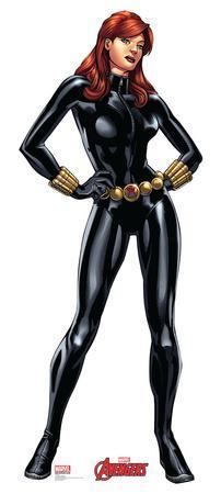 Black Widow -Marvel Avengers Assemble Lifesize Standup
