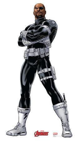 Nick Fury - Marvel Avengers Assemble Lifesize Standup