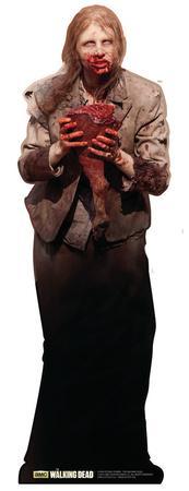 The Walking Dead - Feeding Zombie Woman Lifesize Standup Poster