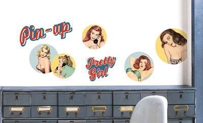 Pin Up Girls Wall Decals