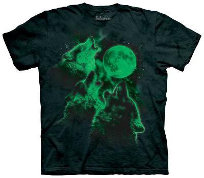 Glowing Three Wolf Moon
