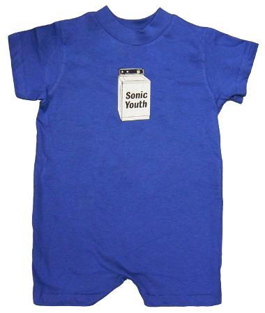 Infant: Sonic Youth - Baby Washer Romper