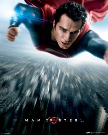 Man Of Steel - Flying Movie Poster