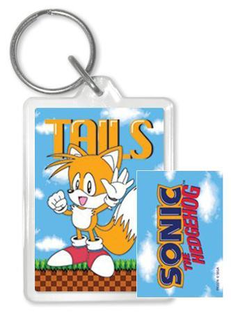 Sonic The Hedgehog - Tails Acrylic Keychain