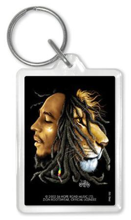 Bob Marley - Li On Acrylic Keychain