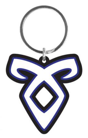 The Mortal Instruments - Angelic Rune Rubber Keychain
