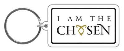 The Mortal Instruments - I Am The Chosen Rubber Keychain