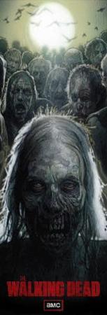 The Walking Dead Zombies TV Door Poster
