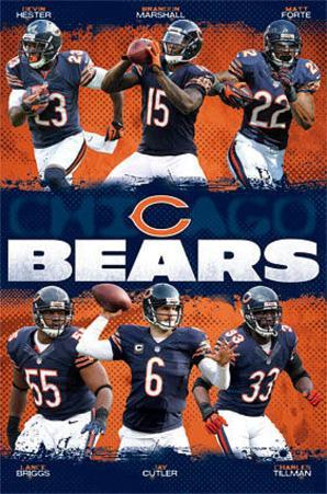 Chicago Bears - Team NFL Sports Poster
