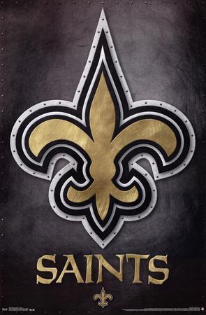 New Orleans Saints - Logo NFL Sports Poster