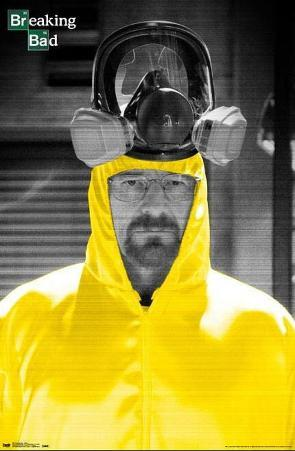 Breaking Bad Yellow Chemical Suit TV Poster