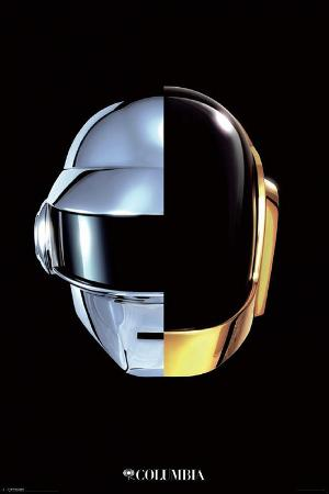 Daft Punk Random Access Memories Music Poster