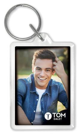 Tom Daley - Denim Acrylic Keychain