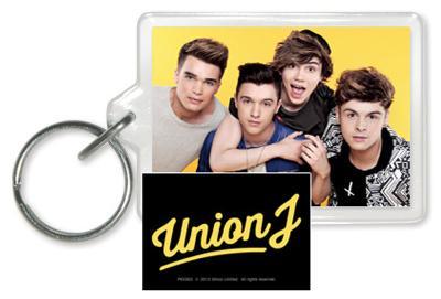 Union J - Yellow Acrylic Keychain