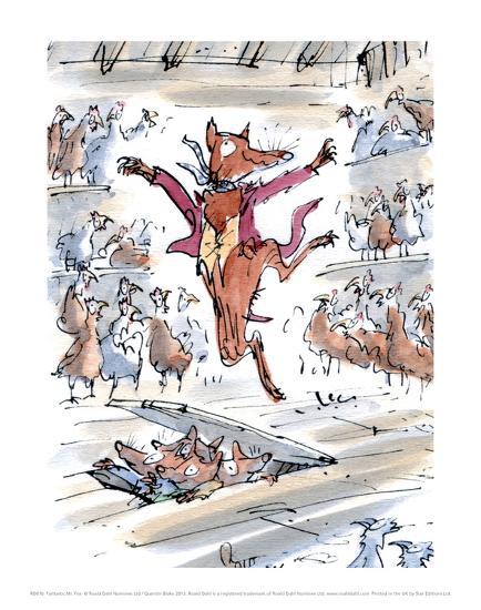 Fantastic Mr Fox Posters Quentin Blake Allposters Com
