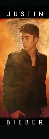 Justin Bieber - Standing Door Flag