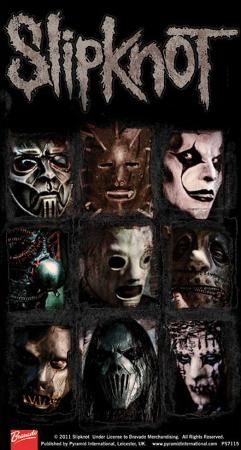 Slipknot Vinyl Sticker
