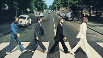 Beatles - Abbey Road Vinyl Sticker