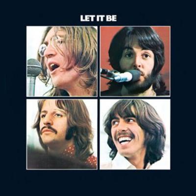 Beatles - Let It Be Vinyl Sticker
