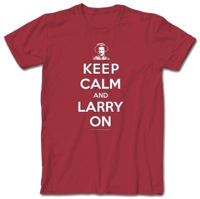 3 Three Stooges - Keep Calm Larry