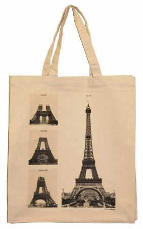 Eiffel Tower Under Construction Tote