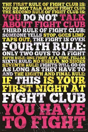 Fight Club - 8 Rules