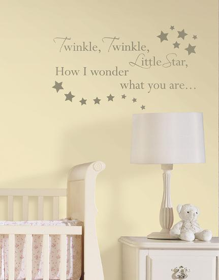 Le Nursery Rhymes Wall Decal Sticker
