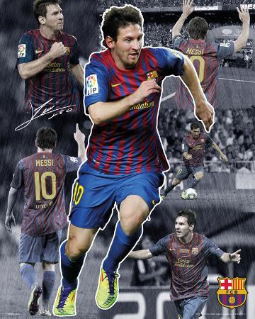 Barcelona Messi - Collage