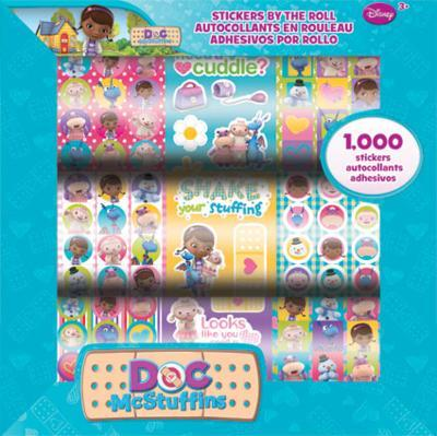 Doc Mcstuffins Stickers By The Roll