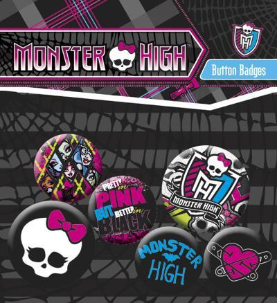 Monster High Badge Pack