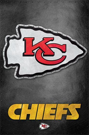 Kansas City Chiefs Logo Nfl Sports Poster Posters At