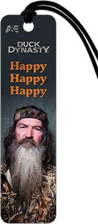 Duck Dynasty - Phil Happy Beaded Bookmark